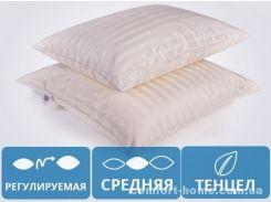 """Подушка антиаллергенная """"Carmela"""" №0369 Teнцел (СРЕДНЯЯ)"""