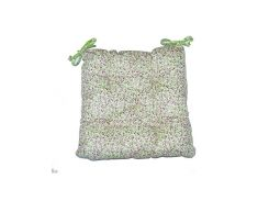 Подушка на стул Цветы-Олива ТМ Прованс Классик