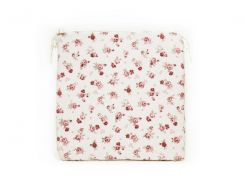 Подушка на стул Прованс Red Rose с кружевом