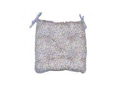 Подушка на стул Цветы - Лаванда ТМ Прованс Классик