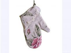 Прихватка-Рукавичка для кухни Large Pink Rose