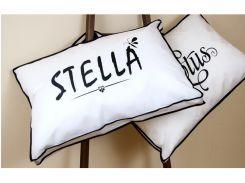 Подушка Lotus 50*70 - Stella белый
