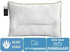 Подушка ортопедическая Deluxe Eco Aloe Vera №180 (СРЕДНЯЯ)