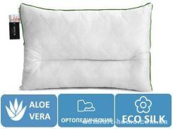 Подушка ортопедическая Premium Eco Aloe Vera №147 (СРЕДНЯЯ)