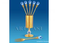 Набор десертных вилочек 6 шт. Union, арт. AT-AR-3951/6G