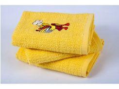 Полотенце кухонное Lotus вышивка - Duck желтый 40*60