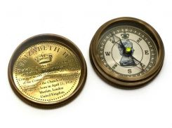 "Компас ""Elizabeth"" антик бронза (6х6х2 см) ( 29258)"