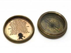 "Компас ""Sherlock Holmes"" бронза (d-6,h-2 см) ( 29288)"