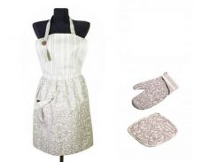 Набор для кухни: фартук, рукавица и прихватка Фреска ТМ Прованс