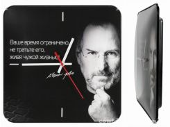 Настенные часы Монтрэ - Стив Джобс
