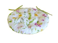 Подушка на стул Прованс Весна круглая 40 см диаметр