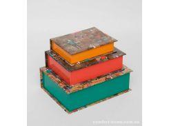 "WE-53 Н-р коробок из 3шт ""Книга"""