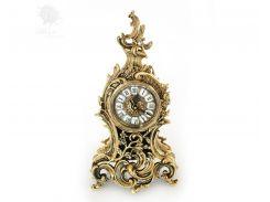 Часы настольные бронзовые Virtus, h-44х27х13 см