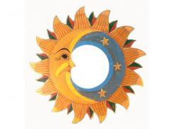 "Зеркало мозаичное ""Луна и Солнце"" (d-40 cм) ( 29669)"