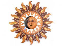 "Зеркало мозаичное ""Луна и Солнце"" (d-40 cм) ( 30166)"