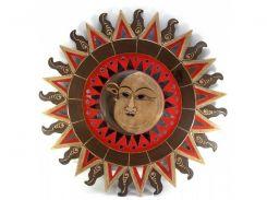 "Зеркало мозаичное ""Солнце и Луна "" (d-60 cм) ( 30259)"