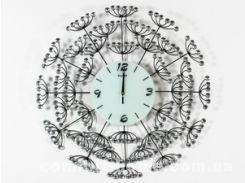 """Настенные часы ДомАрт Метал Хрусталь """"Одуванчик"""""""