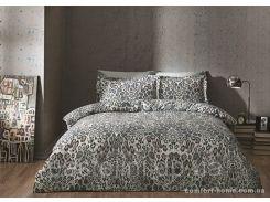 ТАС Digital евро комплект постельного белья сатин Asente mavi