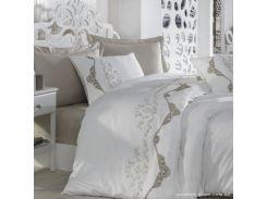 Постельное белье сатин делюкс с вышивкой Dantela Vita Paradise