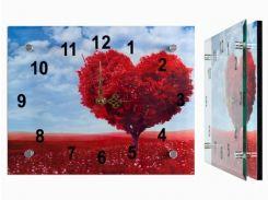 Настенные часы Монтрэ - Дерево-Сердце
