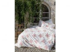 Постельное белье Karaca Home - Elena розовое ранфорс