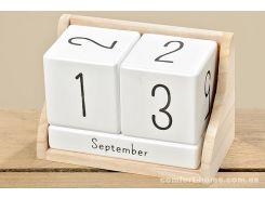 Настольный календарь МДФ 14х7х9 см