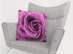 ФотоПодушка Необычная роза, арт. 10 001191