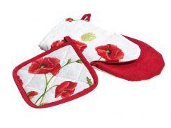 Набор: прихватка и рукавичка для кухни Ливинг Маки