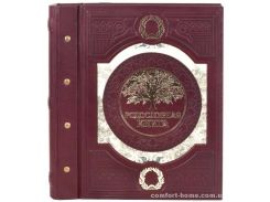 Родословная книга с прошитым внутренним блоком Окно в прошлое