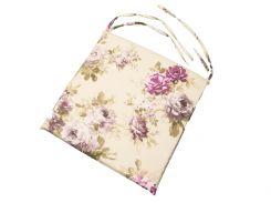 Подушка на стул на молнии 40*40 см Aquarel Lilac