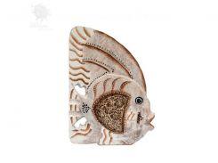 Деревянная статуэтка «Рыбка», h-20 см (32151.2e)