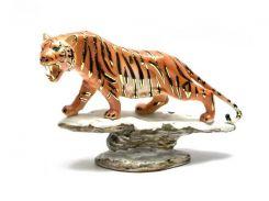 Тигр фарфор (11х18х5 см) ( 26522)