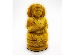 Будда деревянный резной (10,5х4,5х4 см) ( 18216)