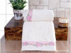 Набор полотенец Irya - Lavinya розовый 30*50+50*90