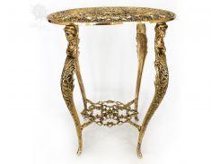 Стол бронзовый «Романтика» Virtus, h-56х45х31 см