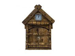 Ключница Домик с часами арт 14502