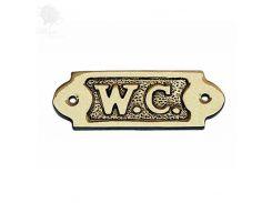 Табличка на двери «W.C» Sea Club, 8,5х3 см (7557.V)