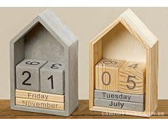 Настольный календарь домик h22см