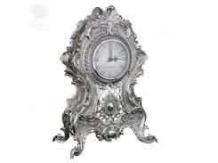 Часы с посеребрением h-31х22x13 см (466-1321)