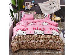 "Постельное белье ""Homytex"" сатин принт Hello Kitty"