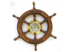 Часы Штурвал Sea Club