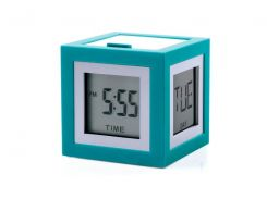 Будильник CUBISSIMO LCD арт LR79V5