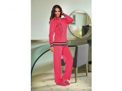 Домашняя одежда Lady Lingerie - Велюровый костюм 15200 XL Код  4286