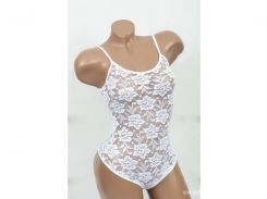 Домашняя одежда Lady Lingerie - 1006 L боди белый Код  3520