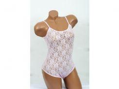 Домашняя одежда Lady Lingerie - 1006 XL боди розовый Код  2000008442732