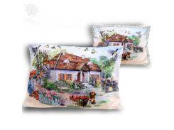 Подушка декоративная на молнии «Белая усадьба» Carmani