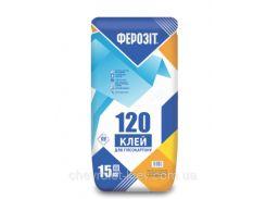Ферозіт 120  Клей для гіпсокартону та укладання гіпсових блоків