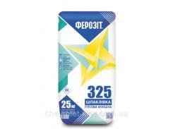 Ферозіт 325  Шпаклівка гіпсова фінішна біла