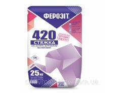 Ферозит 420 стяжка пола смесь для стяжки (30-50мм)