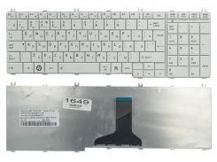 Клавиатура Toshiba Satellite C650 C655 L650 L655 L670 L675 Satellite Pro C650 L650 L670, белая (9Z.N4WGQ.10R)